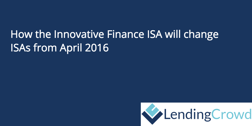 IFISA - Innovative finance isa