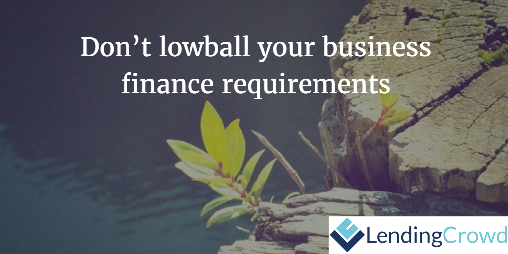 business finance requirements