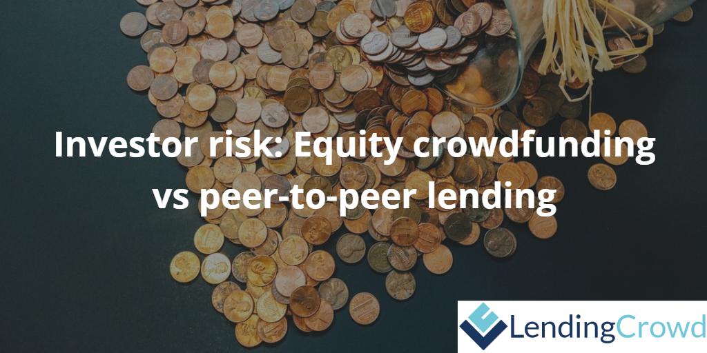 Equity crowdfunding vs peer-to-peer lending