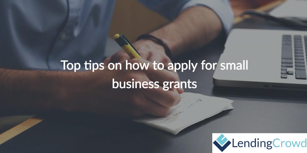 Top tips on how to apply for small business grants