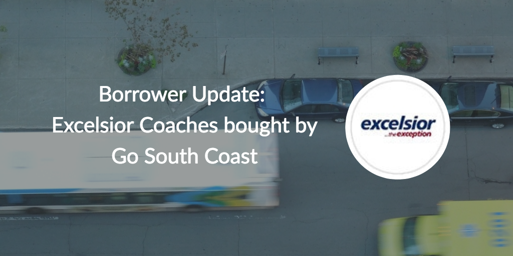 Borrower Update: Excelsior Coaches bought by Go South Coast