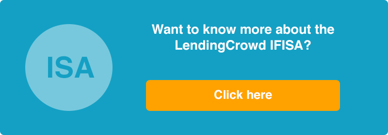 Investing in ISAs with LendingCrowd signup button